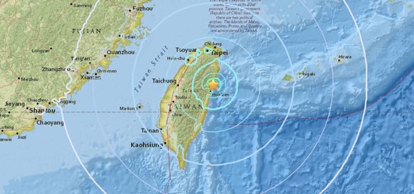 MAGNITUDE 6.4 QUAKE STRIKES NORTHEAST TAIWAN, HOTEL COLLAPSES