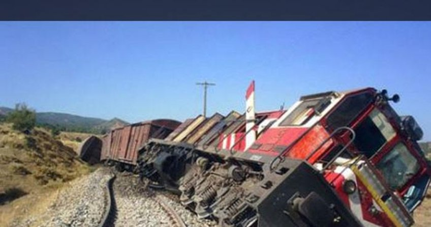 Yük trenine hain saldırı