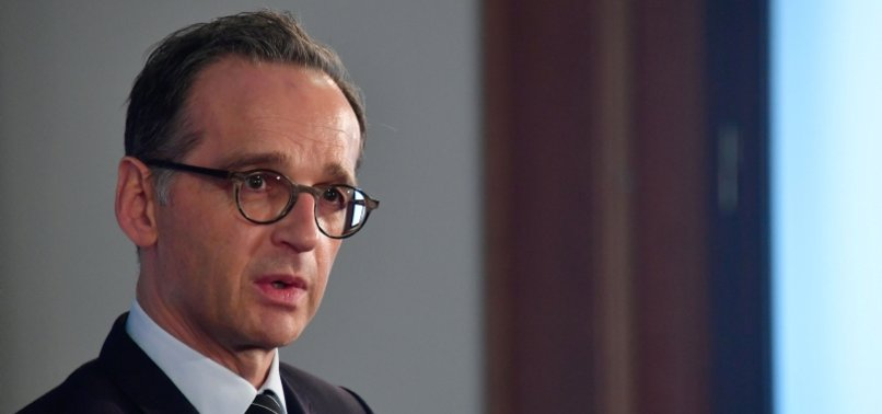 GERMAN FM HEIKO MAAS VERY GRATEFUL FOR TURKEYS CEASEFIRE EFFORT IN IDLIB