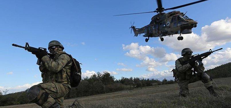 43 PKK TERRORISTS NEUTRALIZED IN ANTI-TERROR OPS, INTERIOR MINISTRY SAYS
