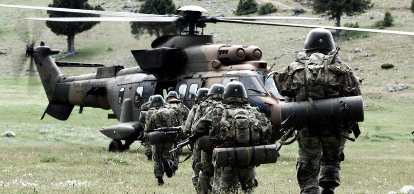 SENIOR PKK TERRORISTS IN NORTHERN IRAQ NEUTRALIZED BY TURKISH FORCES