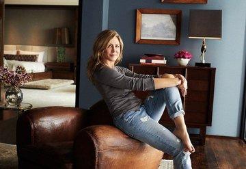 Jennifer Aniston evinin kapılarını açtı