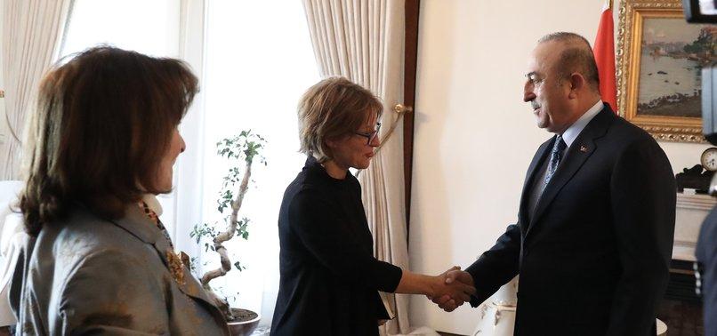 FM ÇAVUŞOĞLU MEETS UN RAPPORTEUR OVER KHASHOGGI