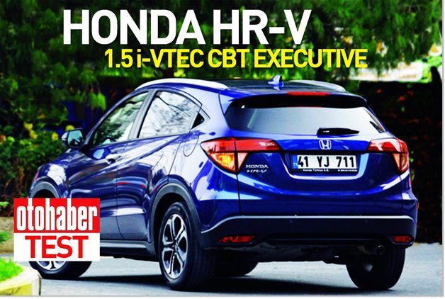 Test · Honda HR-V 1.5 i-VTEC CVT Executive