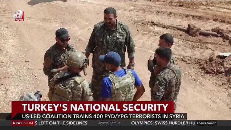 U.S.-led coalition trains 400 YPG/PKK terrorists in Syria