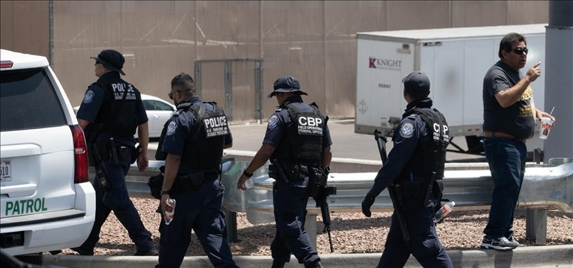 TEXAS LAUNCHES MANHUNT AFTER MASS SHOOTING