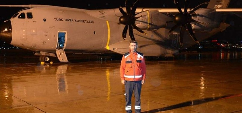 NO REST FOR TURKISH RESCUER, FROM SOMALIA TO CHINA