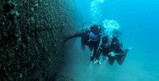 World's biggest submerged plane in Kuşadası awaits divers