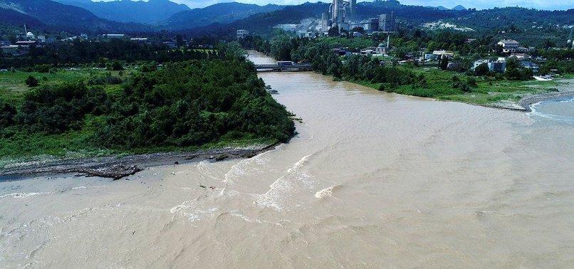 FLASH FLOODS HIT TURKEYS NORTHERN PROVINCE ORDU