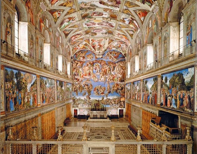Vatikan Müzeleri - İtalya