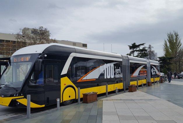 İşte ilk yüzde 100 yerli elektrikli otobüs: E-Karat