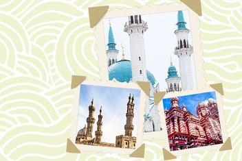 Dünyanın en güzel cami minareleri