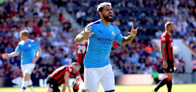 AGUERO STRIKES AGAIN AS MANCHESTER CITY WIN AT CHERRIES