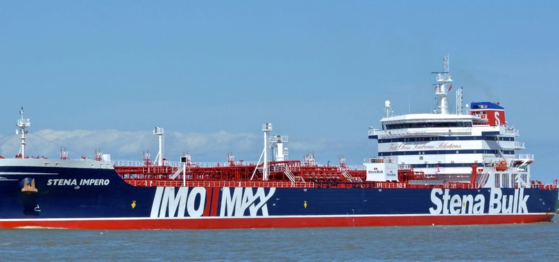 BRITAIN MULLING OVER SERIES OF OPTIONS ON IRANS SEIZURE OF TANKER