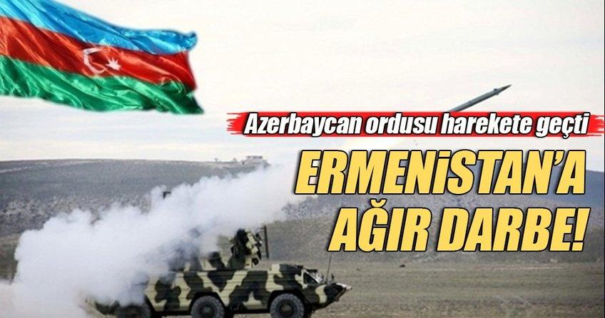 Azerbaycan'dan Ermenistan'a ağır darbe!