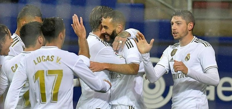 REAL MADRID STRIKE EARLY AGAIN ON WAY TO 4-0 ROUT OF EIBAR