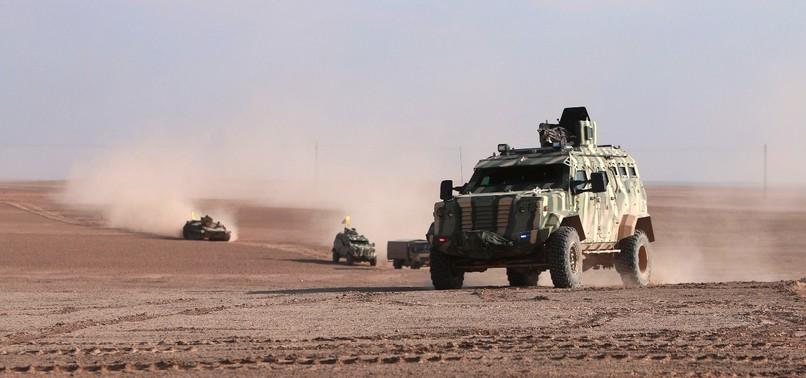 YPG TERRORISTS SET CIVILIAN FARMLANDS ON FIRE IN NORTHERN SYRIA