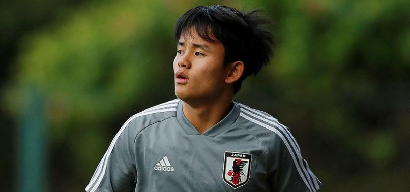 REAL SIGN JAPANESE MESSI KUBO FROM FC TOKYO