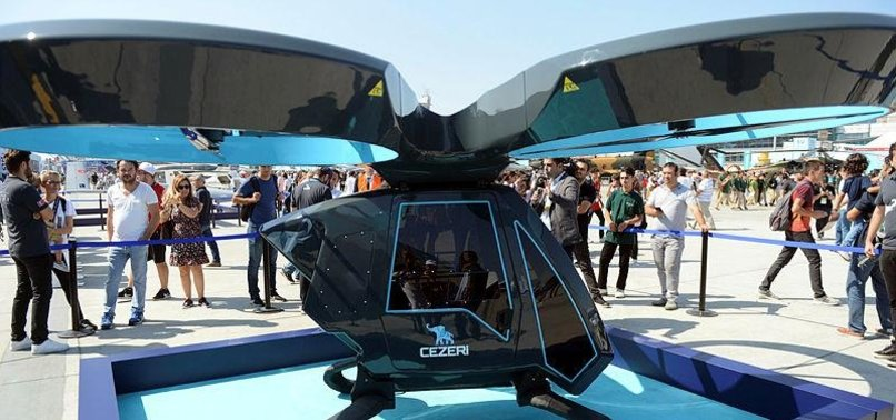 CEZERI, TURKEYS FIRST FLYING CAR DEBUTS AT TEKNOFEST