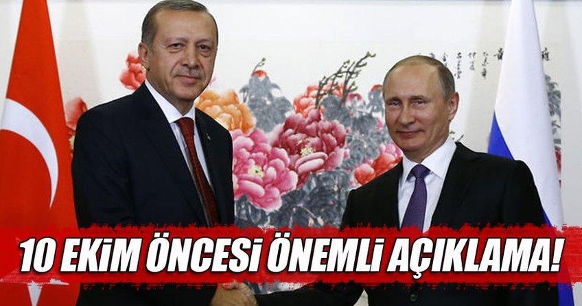 Cumhurbaşkanlığı'ndan Putin'in ziyareti ile ilgili açıklama