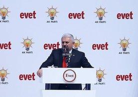 Başbakan Binali Yıldırım: Onlar Atatürk'e de hayır dediler