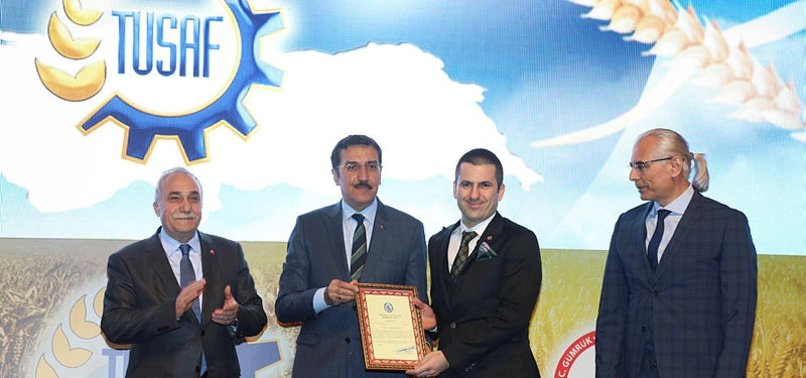 TURKEY WORLDS TOP FLOUR EXPORTER, SAYS MINISTER