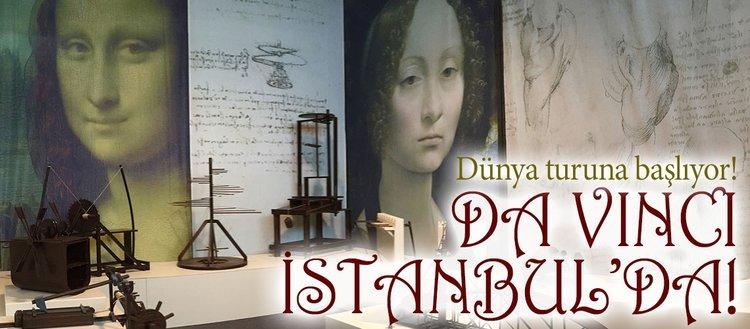 Leonardo Da Vinci sergisi İstanbulda açılıyor