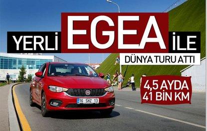 Fiat Egea ile dünya turu