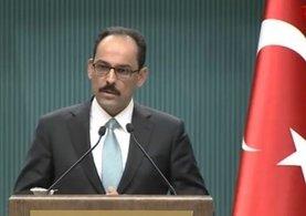 Cumhurbaşkanlığı Sözcüsü İbrahim Kalın'dan flaş açıklamalar