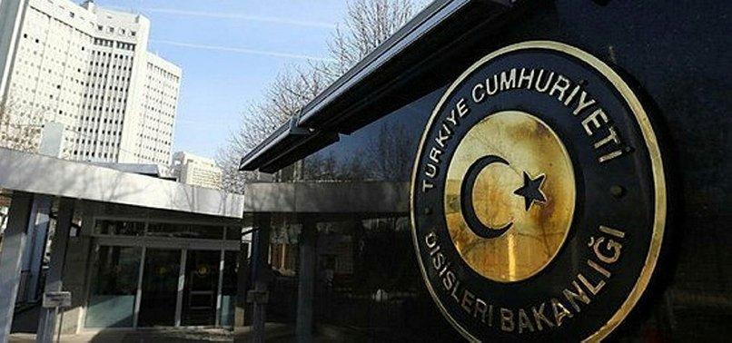 TURKEY SLAMS STATEMENT BY EU GENERAL AFFAIRS COUNCIL