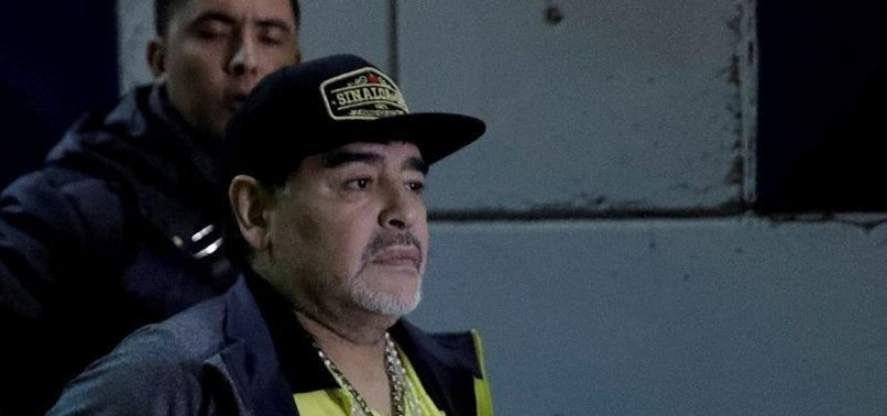 MARADONA RELEASED FROM HOSPITAL AFTER STOMACH SURGERY
