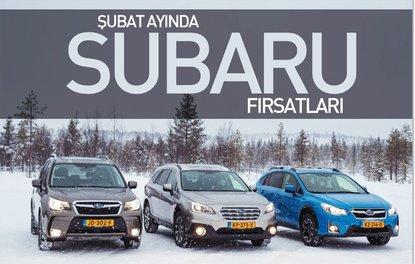 Şubat ayında Subaru fırsatları