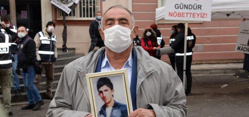 ANOTHER KURDISH FAMILY JOINS ANTI-PKK SIT-IN PROTEST IN TURKEY