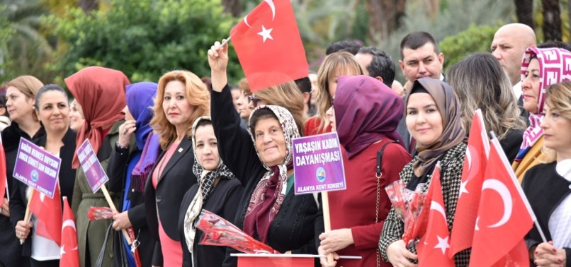 TURKISH WOMEN MARK 84TH YEAR OF SUFFRAGE