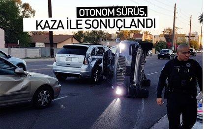 Otonom sürüş, kaza ile sonuçlandı