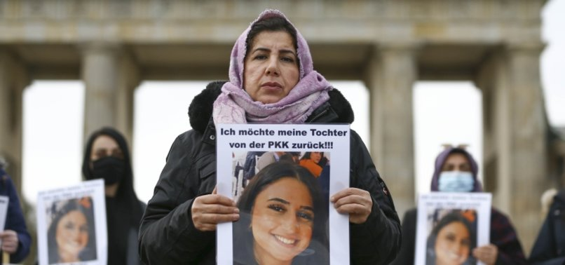 GERMAN-TURKISH MOTHER CONTINUES PROTEST AGAINST PKK TERROR GROUP