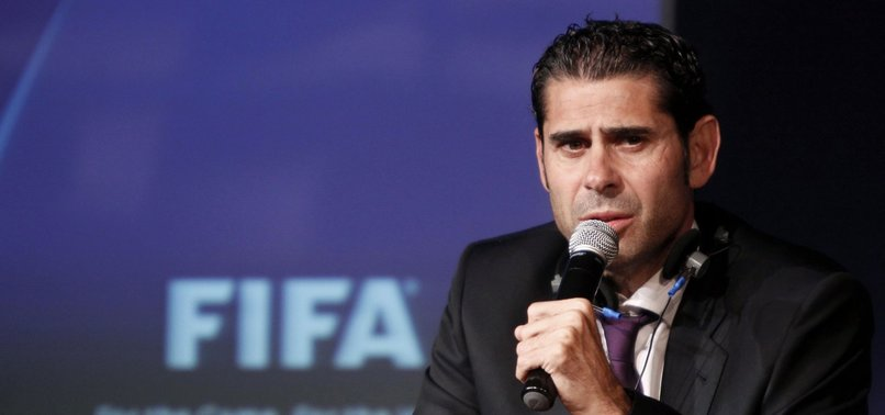 HIERRO TO MANAGE SPAIN DURING WORLD CUP