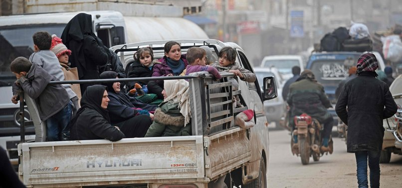 REGIME ATTACKS ON IDLIB DISPLACE NEARLY 150,000 SYRIAN CIVILIANS IN SIX DAYS