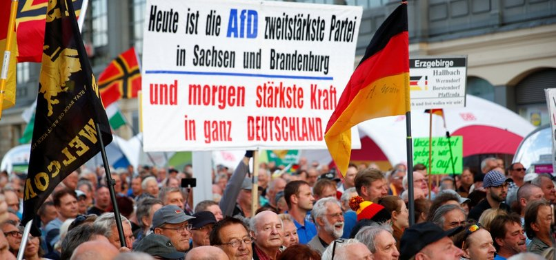 GERMAN MUSLIMS SAY AFDS SURGE PROMOTES RIGHT-WING EXTREMISTS