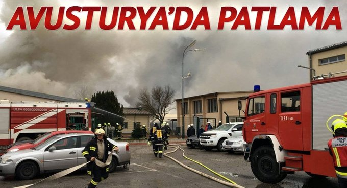 Avusturya'da gaz istasyonunda patlama: 1 ölü,18 yaralı