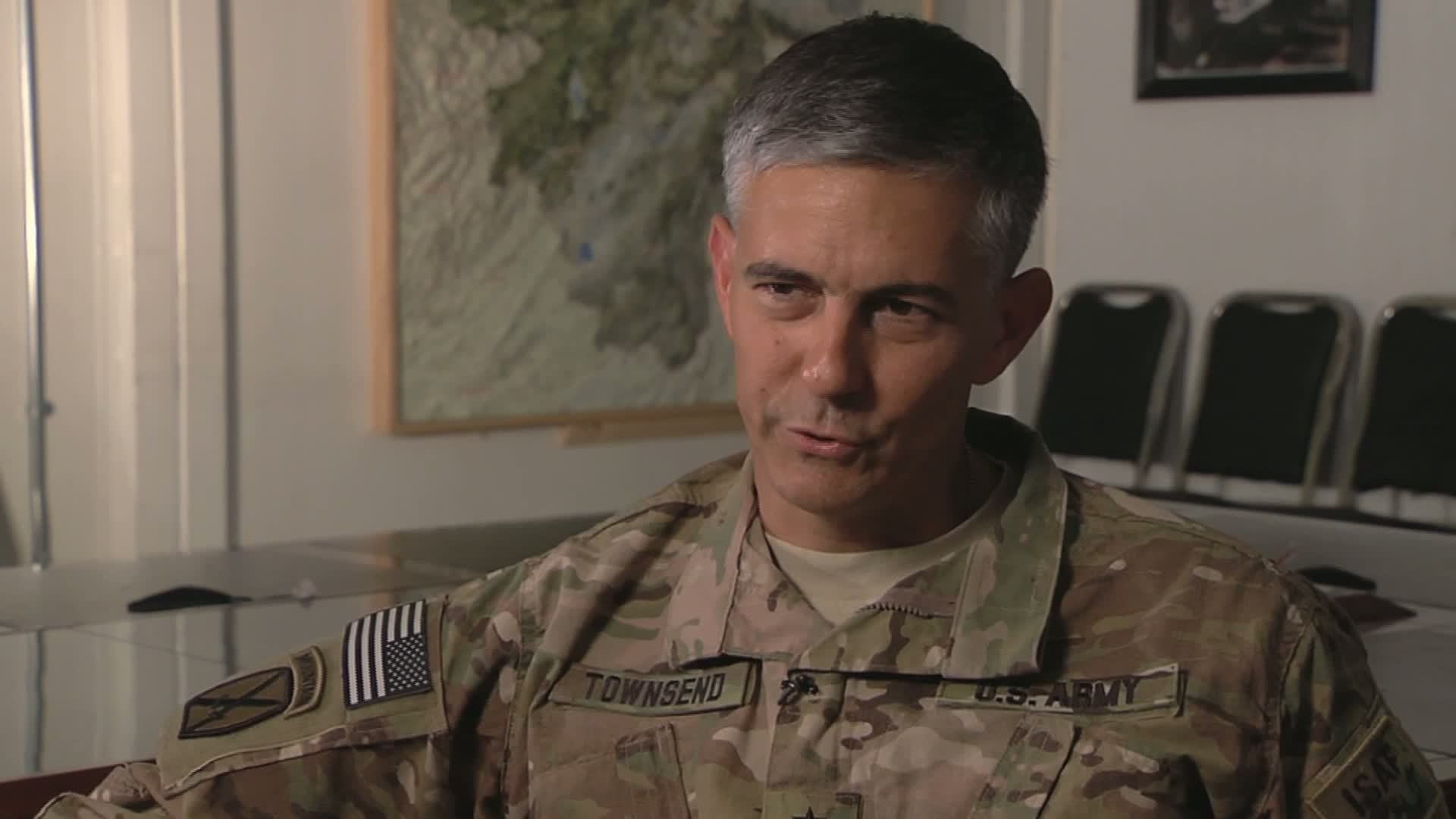 US General Townsend (Video caption courtesy of Defense Video Imagery Distribution System)