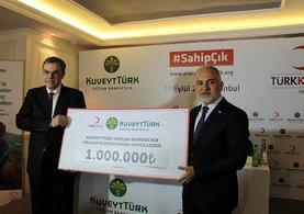 Kuveyt Türk'ten Arakan'a 1 milyon TL