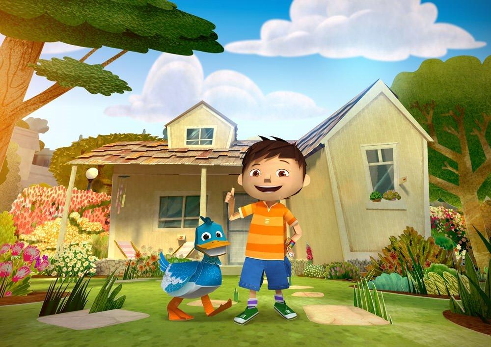Zack ile Vak Vak'ın Kağıt Dünyası