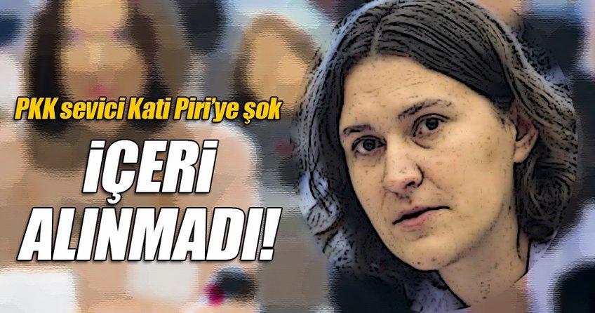 Terör sevici Kati Piri'ye şok!