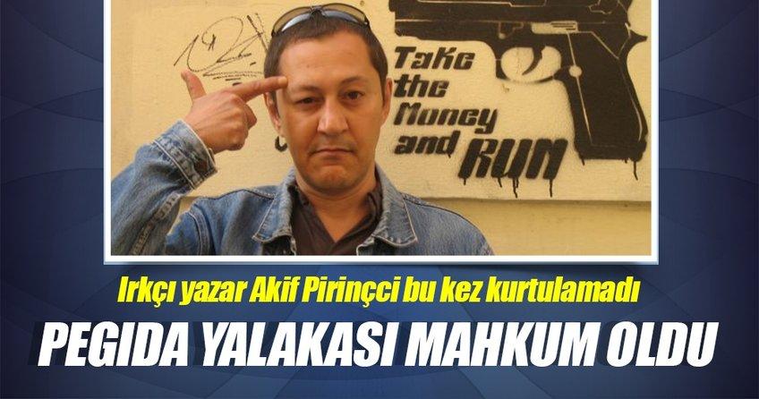 Pegide yalakası Akif Pirinçciye para cezası