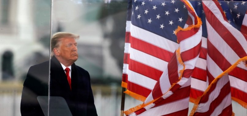TRUMP BECOMES FIRST US PRESIDENT TO BE IMPEACHED TWICE