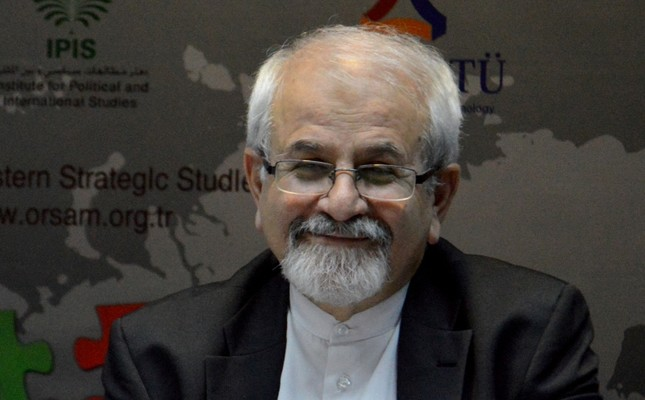 The Deputy Foreign Minister of Iran, Dr. Seyed Kazem Sajjadpour.