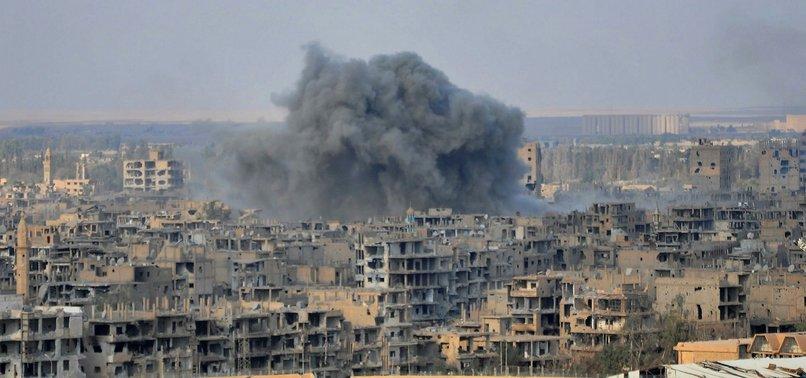 AIR STRIKES ON SYRIAN PROVINCE OF DEIR EZZOR LEAVE 12 CIVILIANS DEAD: MONITOR