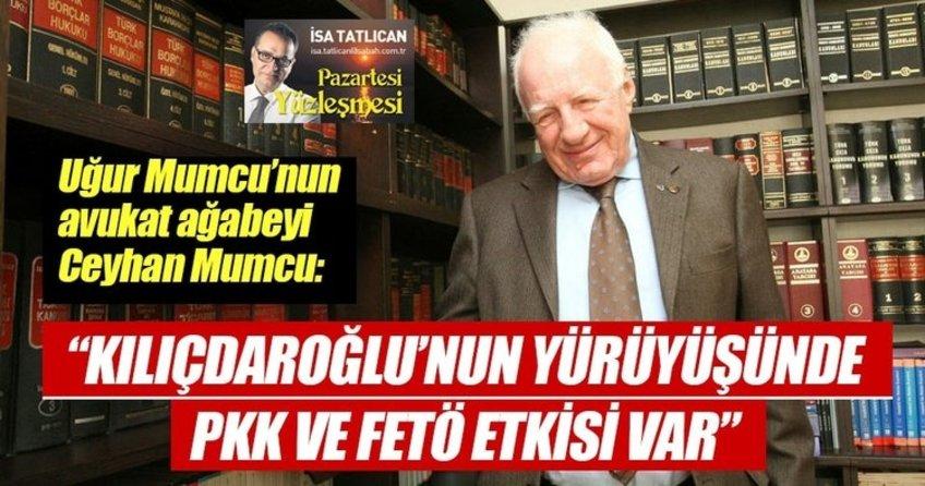 Kılıçdaroğlu'nun yürüyüşünde PKK ve FETÖ etkisi var