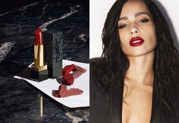 Zoë Kravitz ve YSL Beautyden yeni ruj koleksiyonu
